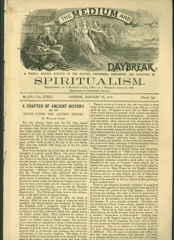 """<a href=""""/items/browse?advanced%5B0%5D%5Belement_id%5D=50&advanced%5B0%5D%5Btype%5D=is+exactly&advanced%5B0%5D%5Bterms%5D=Spiritualist+Newspaper"""">Spiritualist Newspaper</a>"""