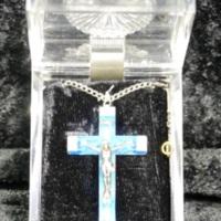 Lourdes Cross necklace