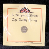 Tooth Fairy Sixpence