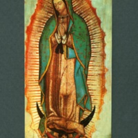 Virgin of Guadalupe prayer card
