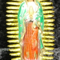 Virgin of Guadalupe statuette