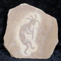 Kokopeli stone