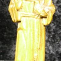 Saint Francis statuette