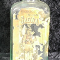 Kickapoo Indian Sagwa bottle