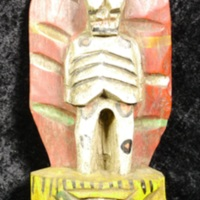 San Pascualito House Blessing carving