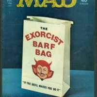 MAD Magazine Exorcist Issue