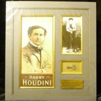 Houdini Key and Photograph<br />