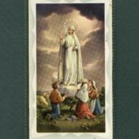 Fatima novena, laminated