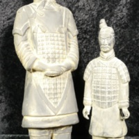 Set of Terra Cotta Warrior statuettes