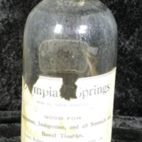 Olympia Springs Water Bottle